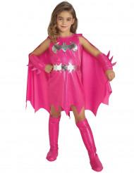 Batgirl™-Kostüm für Mädchen Superheldin pink-silber
