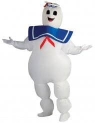 Aufblasbares Ghostbusters™ Marshmallow Kostüm für Erwachsene