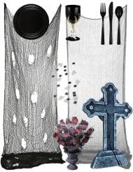 Gotisches Halloween-Tischset