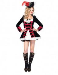 Sexy Piraten-Kapitäns- Kostüm für Damen