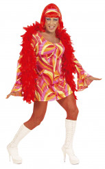 Drag Queen Kostüm 70er Jahre für Herren