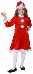 Weihnachtsfrau-Kostüm für Kinder