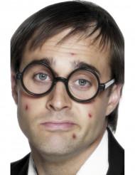 Nerd-Brille für Erwachsene schwarz
