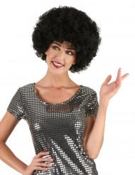 Afro Perücke schwarz für Erwachsene