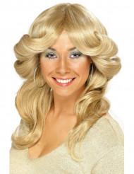 Perücke blond 70 Jahre für Damen