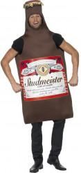 Bierflaschen Kostüm für Erwachsene