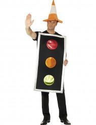 Ampel - Kostüm für Erwachsene