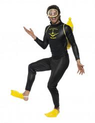 Taucher Kostüm für Erwachsene