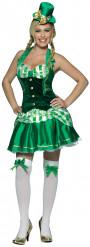 Sexy Irländerinnen-Kostüm für Damen