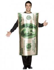 100 $ Schein - Kostüm für Erwachsene