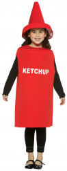 Ketchup-Kostüm für Kinder