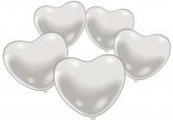 Luftballons Weißes Herz
