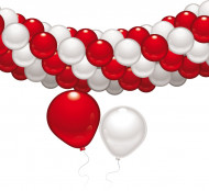 Girlande Luftballons