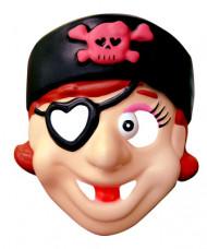 Piratinnen-Maske für Kinder