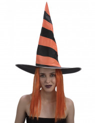 Hexenperücke Damen Halloween