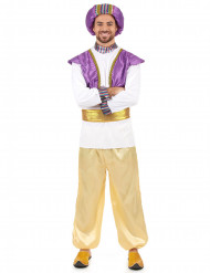 Sultan-Kostüm für Herren gold-lila