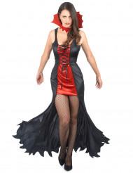 Vampir-Kostüm Damen Halloween