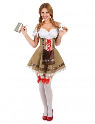 Dirndl Bayerin Kostüm für Damen