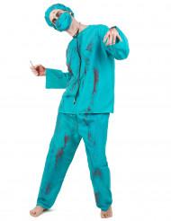 Chirurgen Zombie-Kostüm für Erwachsene Halloween