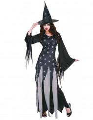 Hexen-Kostüm Damen Halloween