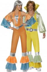 Disco-Paarkostüm für Erwachsene