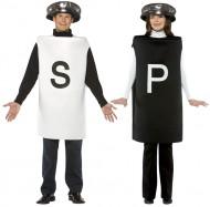 Salz - und Pfefferstreuer - Kostüm für Erwachsene