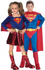 Superman und Supergirl Kostüm für Kinder