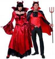 Teufelskostüm Halloween für Paare