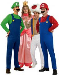 Super Mario™-Gruppenkostüm für Erwachsene bunt