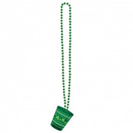 Halskette mit St.Patrick's Day Schnapsglas