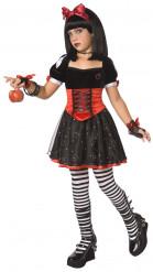 Vergiftete Prinzessin Kostüm für Mädchen