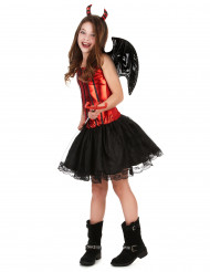 Teufelinnen Kostüm für Kinder