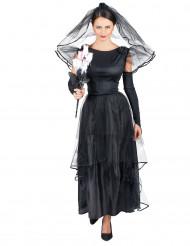 Schwarze Witwe Kostüm für Damen