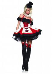 Sexy Spielkarten - Kostüm für Damen