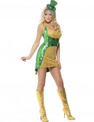 Sexy Irländerinnen Kostüm für Damen