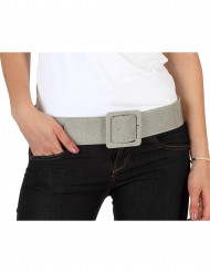 Gürtel - silber für Damen