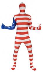 Morphsuits™ -Amerika - Kostüm für Erwachsene