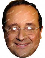 François Hollande - Maske