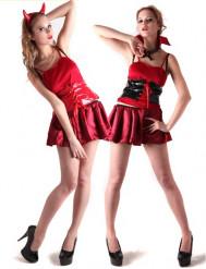 Teufel oder Vampir Kostüm für Damen