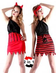 Teufel oder Piraten Kostüm für Damen
