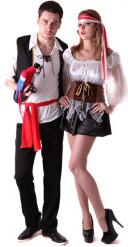 Piraten - Kostüm für Paare