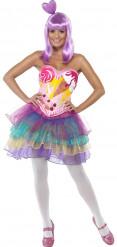 Bonbons Kostüm für Damen