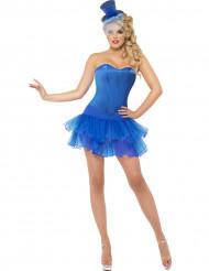 Sexy Blaues Kostüm für Damen