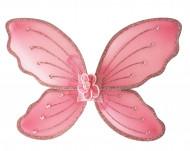 Flügel rosa für Kinder