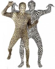 Morphsuits™ -  Zebra - Leoparden Paarkostüm