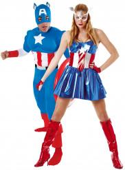 Captain America™ Paarkostüm