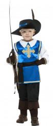 Musketier-Kostüm für Jungen bunt