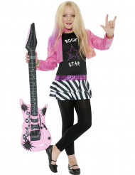 Rockstar-Kostüm für Mädchen