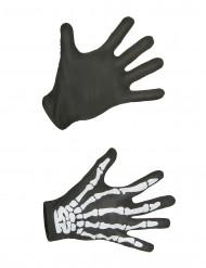 Skelett-Handschuhe Erwachsene