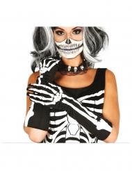 Skelett-Handschuhe für Damen